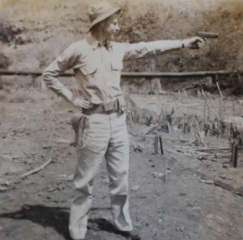 RC Cawley at Pearl Harbor